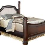 Tempat tidur minimalis mewah King Poster