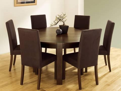 meja makan 6 kursi
